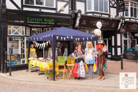 Mad Hatter's Tea Party at Curtain Magic Northwich - Marie Curie Charity Event